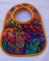 Larger baby bib